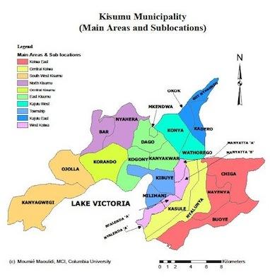 Kisumu Maps Millennium Cities Initiative