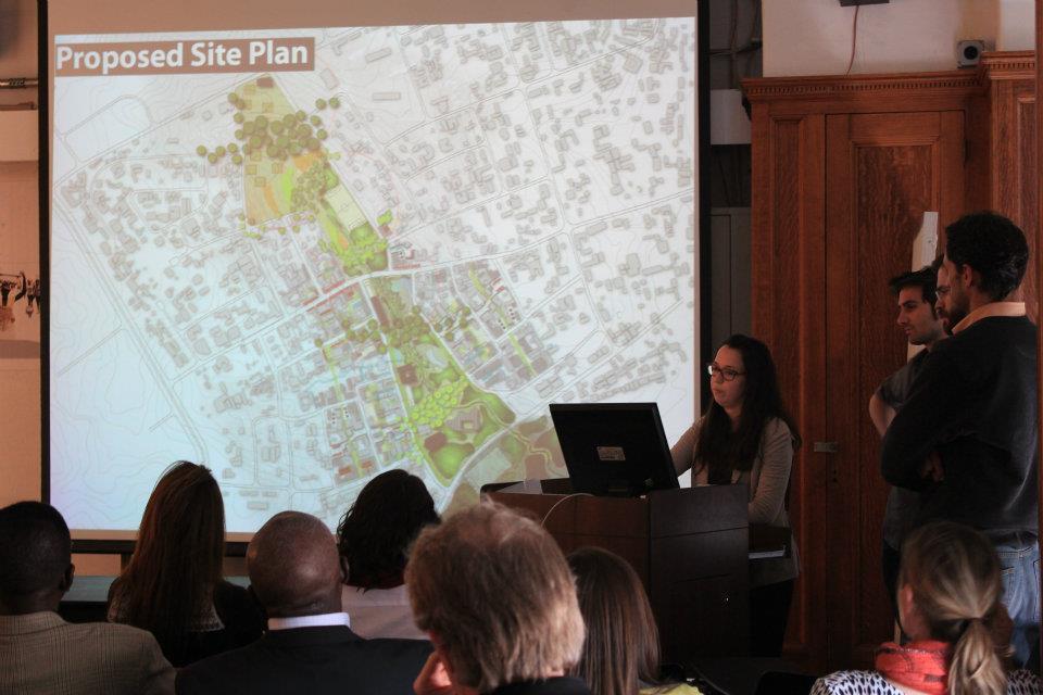 UDL Kumasi presentation_proposed site plan