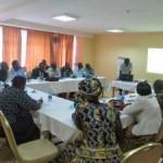 Manyatta community leaders' sensitization workshop.